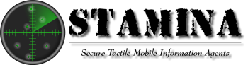 S.Ta.M.In.A. Secure Tactile Mobile Information Agents